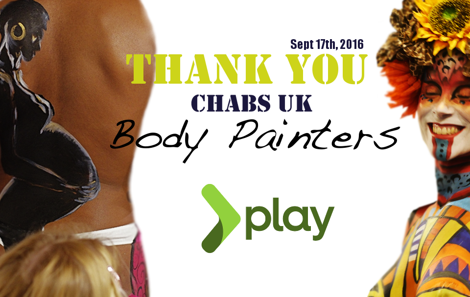 Thank You Body Painters