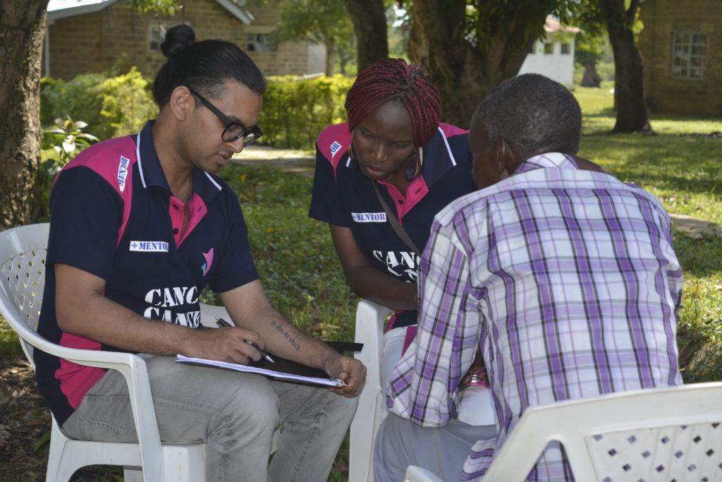 Volunteer for Kenya.