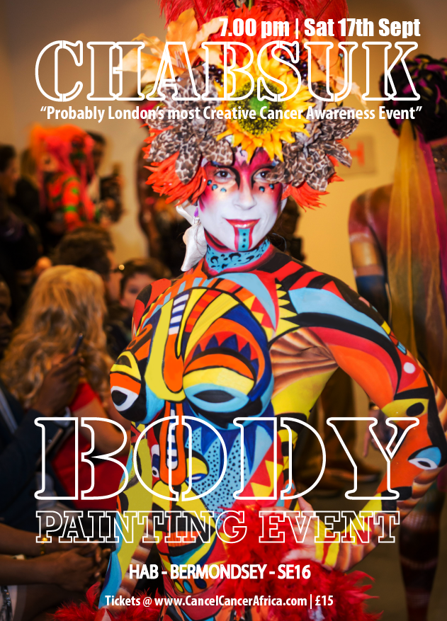 Countdown chabsuk a body painint event