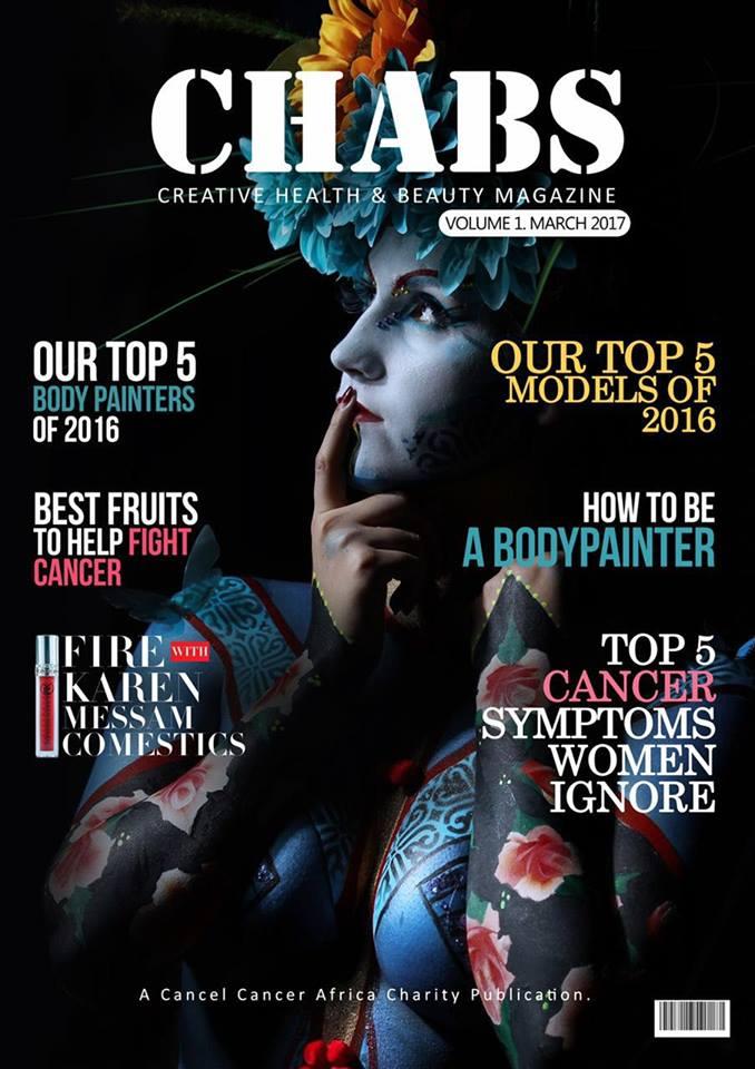 UK no1 bodypainting magazine